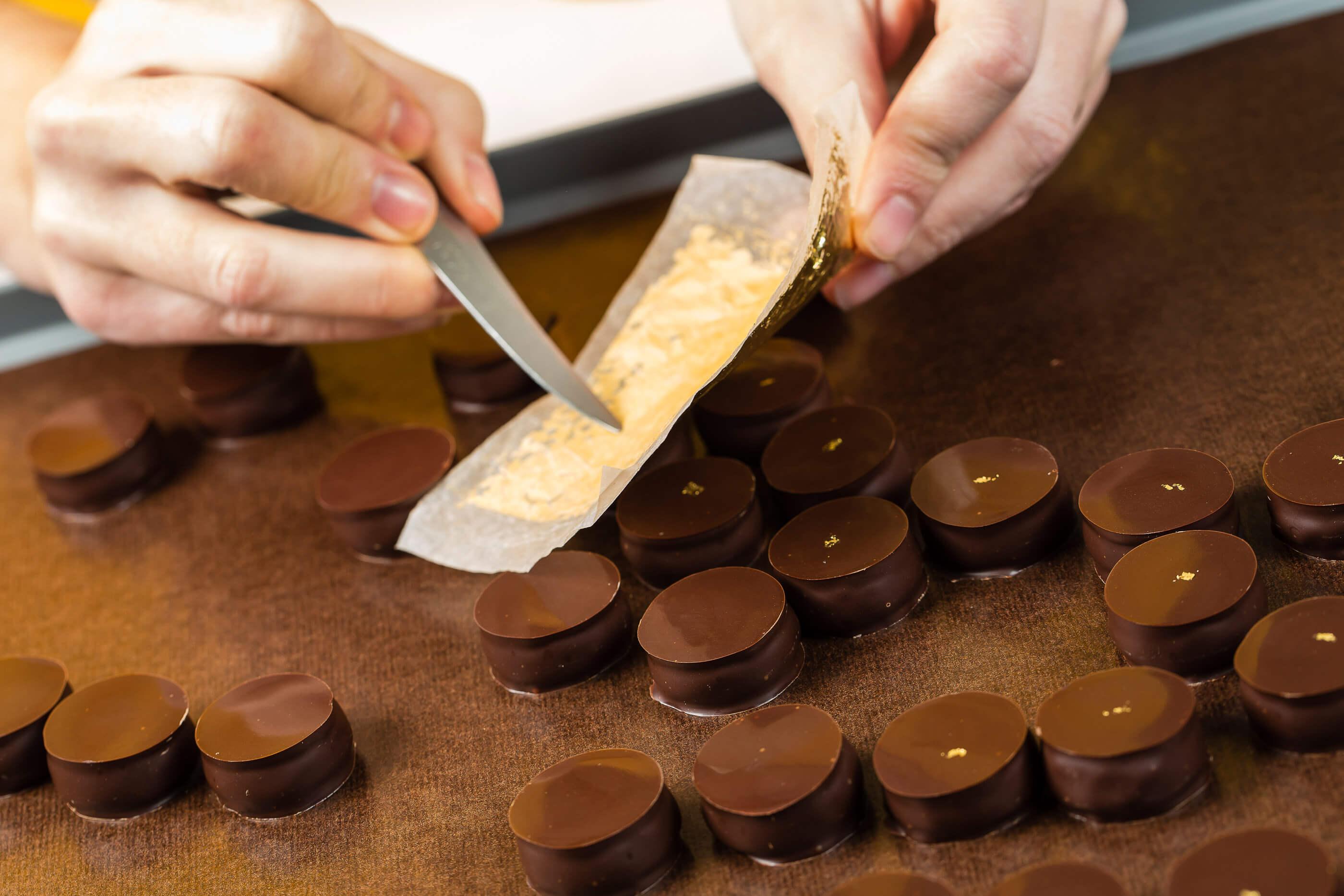 Chocolats mon pari gourmand